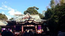 武蔵野八幡宮へ初詣